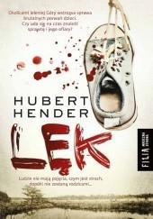 Okładka książki Lęk Hubert Hender