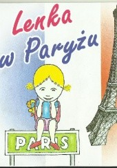 Okładka książki Lenka w Paryżu praca zbiorowa