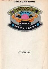 Okładka książki Wariant afrykański Jurij Dawydow