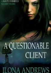 Okładka książki A Questionable Client Ilona Andrews