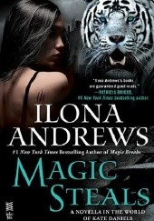 Okładka książki Magic Steals Ilona Andrews