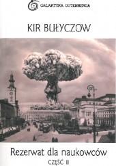 Okładka książki Rezerwat dla naukowców część II Kir Bułyczow