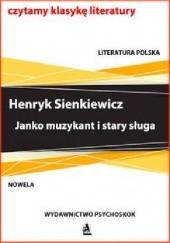 Okładka książki Janko muzykant i stary sługa Henryk Sienkiewicz