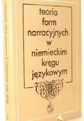 Okładka książki Teoria form narracyjnych w niemieckim kręgu językowym Ryszard Handke