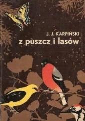 Okładka książki Z puszcz i lasów Jan Jerzy Karpiński
