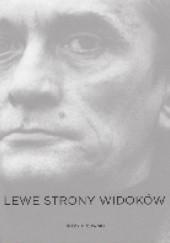 Okładka książki Lewe strony widoków Jerzy Ficowski