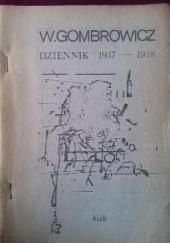 Okładka książki Dziennik 1957–1958 Witold Gombrowicz