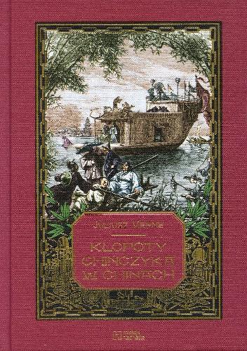 Okładka książki Kłopoty Chińczyka w Chinach Juliusz Verne