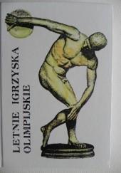 Okładka książki Letnie igrzyska olimpijskie tom II Jerzy Marchewka