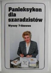 Okładka książki Panleksykon dla szaradzistów. Wyrazy 7-literowe Jerzy Marchewka