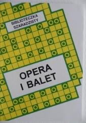 Okładka książki Opera i balet Jerzy Marchewka