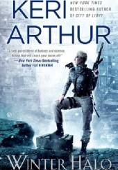 Okładka książki Winter Halo Keri Arthur