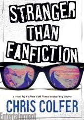 Okładka książki Stranger Than Fanfiction Chris Colfer