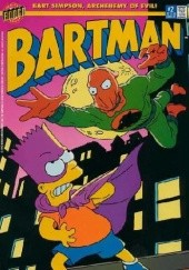 Okładka książki Bartman #2 - Where Stalks... the Penalizer! Matt Abram Groening,Steve Vance