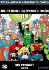 Okładka książki Amerykańska Liga Sprawiedliwości JLA: Rok pierwszy - Część 2 Brian Augustyn,Mark Waid,Peter J. Tomasi,Barry Kitson,Pat Garrahy