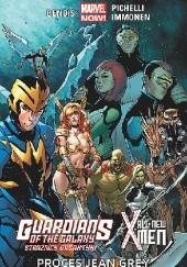 Okładka książki Guardians of the Galaxy (Strażnicy Galaktyki)/All-New X-Men: Proces Jean Grey Brian Michael Bendis,Sara Pichelli,Stuart Immonen