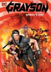 Okładka książki Grayson Vol. 5: Spirals End Carmine di Giandomenico,Mikel Janin,Tim Seeley,Tom King,Collin Kelly,Jackson Lanzing