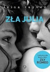 Okładka książki Zła Julia Leisa Rayven