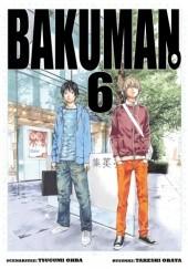 Okładka książki Bakuman #6 Tsugumi Ohba,Takeshi Obata