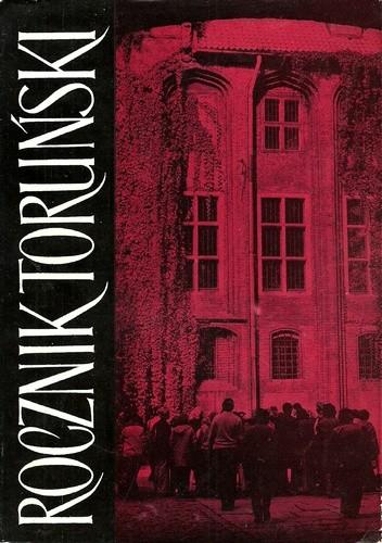 Okładka książki Rocznik toruński 11 praca zbiorowa