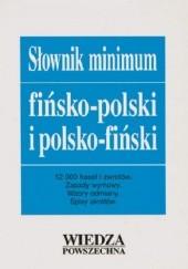 Okładka książki Słownik minimum fińsko-polski i polsko-fiński Antoni Krawczykiewicz