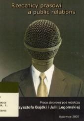 Okładka książki Rzecznicy prasowi a public relations Krzysztof Gajdka,Julia Legomska
