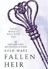 Okładka książki Fallen Heir Erin Watt