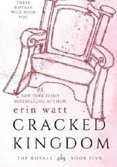 Okładka książki Cracked Kingdom Erin Watt
