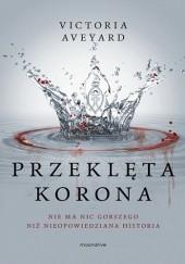 Okładka książki Przeklęta korona Victoria Aveyard
