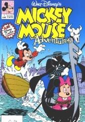 Okładka książki Mickey Mouse Adventures #1
