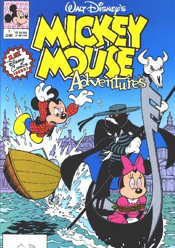 Okładka książki Mickey Mouse Adventures #1 Walt Disney