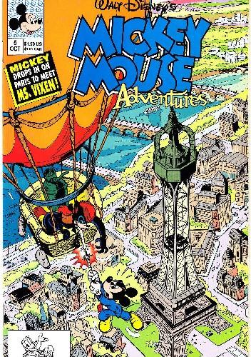 Okładka książki Mickey Mouse Adventures #5 Walt Disney