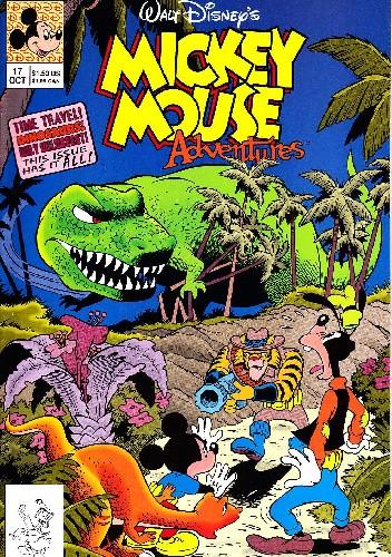 Okładka książki Mickey Mouse Adventures #17 Walt Disney