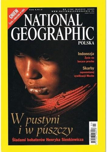 Okładka książki National Geographic 03/2001 (18) Redakcja magazynu National Geographic