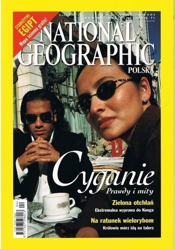 Okładka książki National Geographic 04/2001 (19) Redakcja magazynu National Geographic