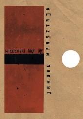 Okładka książki Wiedeński high life Jakobe Mansztajn