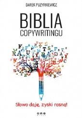 Okładka książki Biblia copywritingu Dariusz Puzyrkiewicz