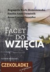Okładka książki Facet do wzięcia Anna Crevan Sznajder