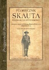 Okładka książki Podręcznik skauta. Książka dla młodych harcerzy Maria Arct-Golczewska