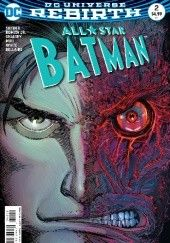 Okładka książki All Star Batman #2 Scott Snyder,John Romita Jr.,Declan Shalvey,Danny Miki