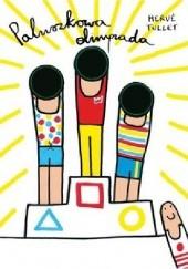 Okładka książki Paluszkowa olimpiada Hervé Tullet