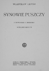 Okładka książki Synowie puszczy Władysław Umiński