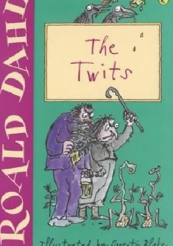 Okładka książki The Twits Roald Dahl