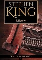 Okładka książki Misery Stephen King