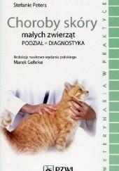 Okładka książki Choroby skóry małych zwierząt