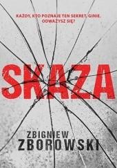 Okładka książki Skaza Zbigniew Zborowski