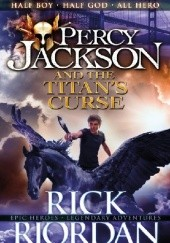 Okładka książki Percy Jackson and the Titan's Curse