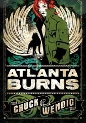 Okładka książki Atlanta Burns Chuck Wendig