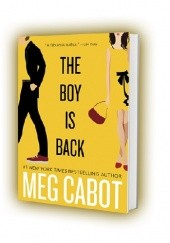 Okładka książki The boy is back Meg Cabot