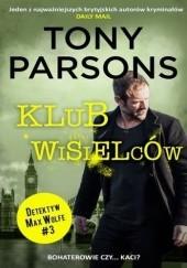 Okładka książki Klub wisielców Tony Parsons
